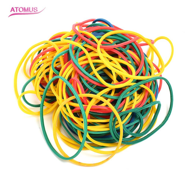 100pcs Large Size Shockproof Silicone Tattoo Rubber Colorful Super Elastic Tattoo Round Rubber Band For Tattoo Machine Gun Tool Kit Supply