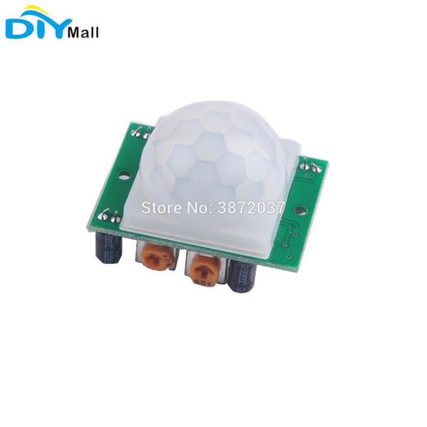 HC-SR501 Pir Infrared IR Sensor Human Body Motion Detector Module for Arduino Security Alarm System