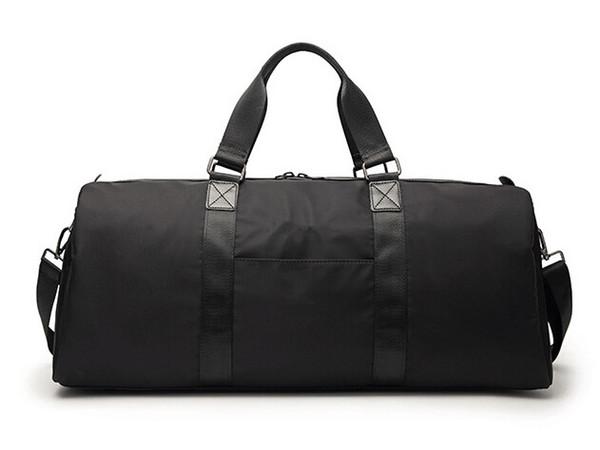 2018 новый бренд дизайнер черный Supre человек сумки большой емкости спорт тренажерный зал сумка вещевой водонепроницаемый открытый сумки