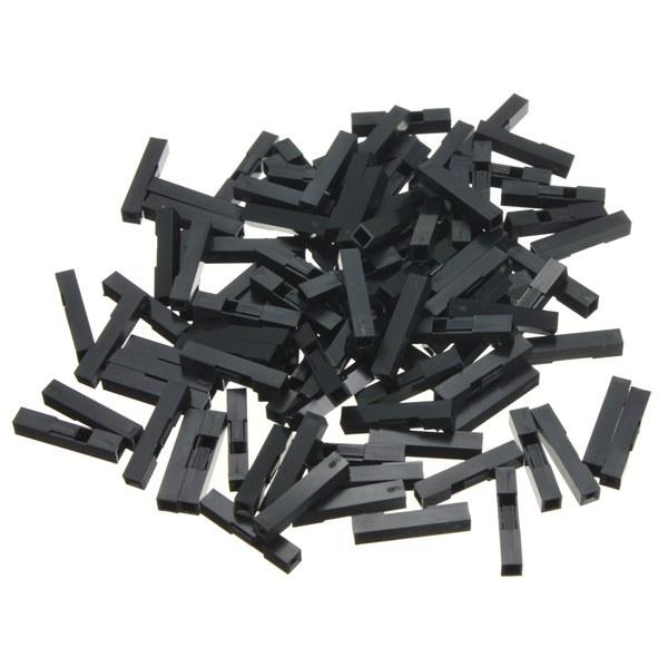 100PCS 1 Pin Header Connector Housing For Dupont Wire Jumper Compact