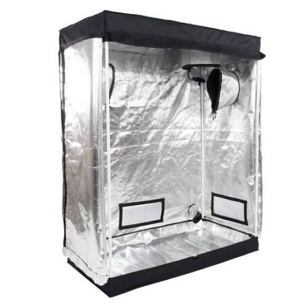 Freies verschiffen 120x60x150 cm Heimgebrauch Zerlegbare Hydrokultur Pflanze Wachsende Zelt Mit Fenster gewächshaus pflanzen in einer umweltfreundlichen art und weise
