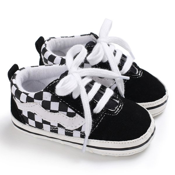 2018 Fashion New 1 Pair Autumn Baby Shoes Kid Boy Girl Fox Head Lace Cotton Cloth First Walker Anti-slip Soft Sole Toddler Sneaker