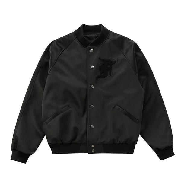 Fear Of God Jacket For Men Winter Windbreaker Jacket Chinese Limited Hong Kong Justin Bieber Motorcycle