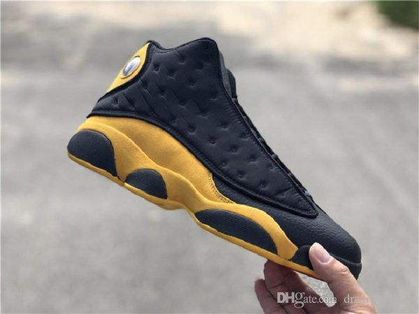87556bf5317 2018 New 13 Melo Class of 2002 Carmelo Anthony Black Gold 13S Basketball  Shoes Man Authentic