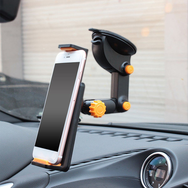 """360 Degree Car Windshield Mount Holder For 7-11"""" iPad Mini/2/3/4/Air iPhone Tablet GPS Mobile phone"""