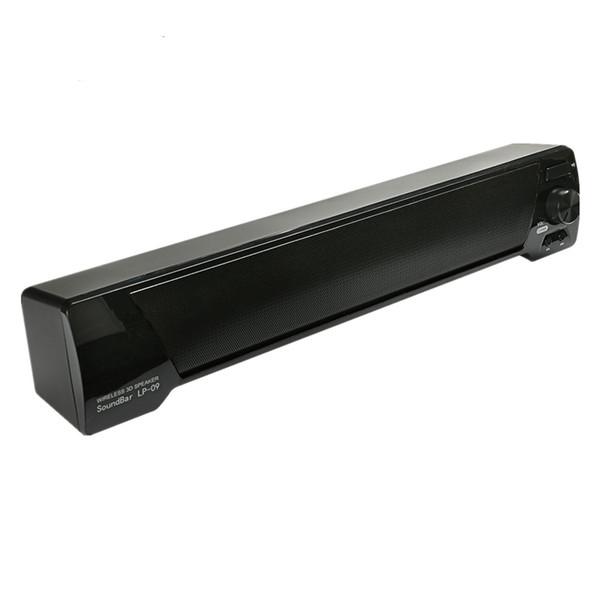 LP-09 Bluetooth Speaker 3D Soundbar Wireless HIFI Subwoofer Speakers TF AUX USB FM Boombox Altavoz For Computer PC Phone