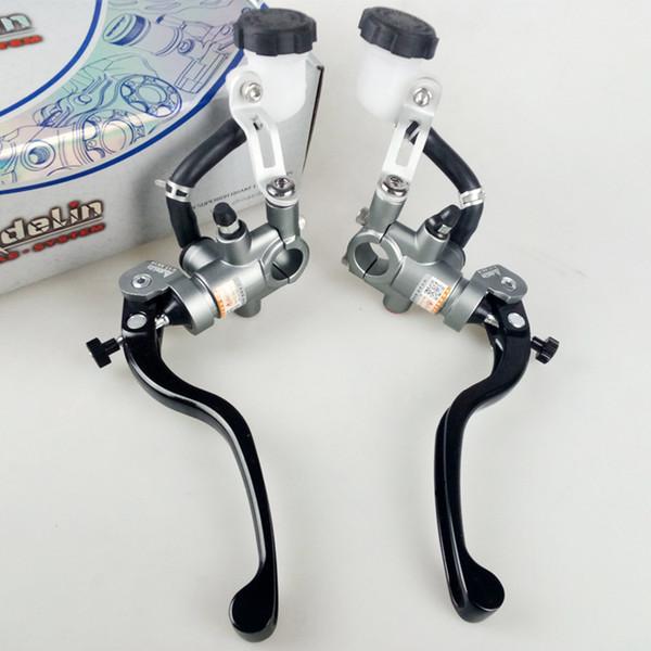 "Universal 7/8"" 22mm Motorcycle 16x18mm Clutch Brake Lever Master Cylinder Hydraulic Pump handle For Honda KTM Suzuki Yamaha Kawasaki"
