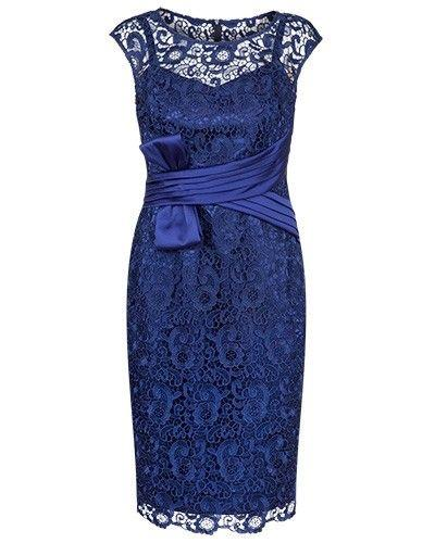 Roayl Blue Lace Sheath Knee Length Mother of the Bride Dresses with Sash for Wedding Party Mother of the groom Dresses