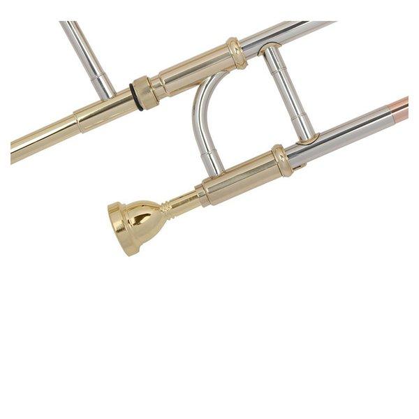 Trombon ağızlığı için tasarlanmıştır.