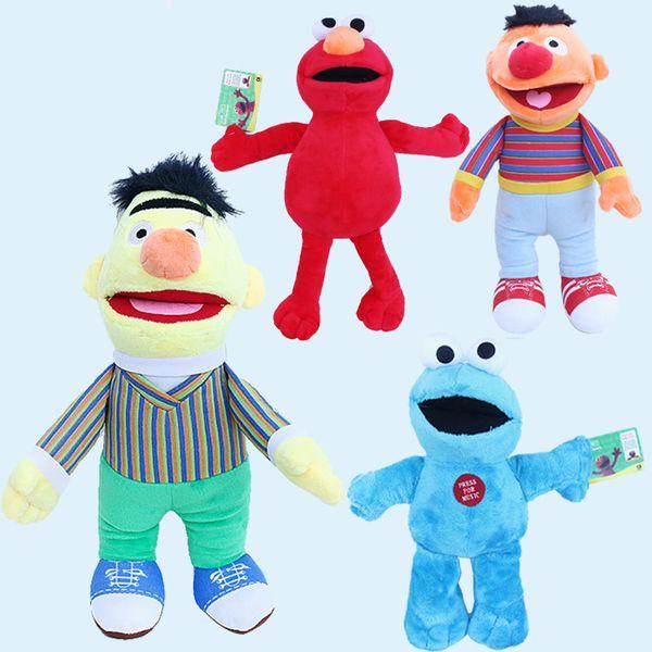 2019 Sesame Street Elmo Doll Puppet Plush Toy Kids Christmas Gift Home  Decoration Toys Stuffed Animals Dolls 20CM/30CM/40CM GGA1109 From  Kids_dress,