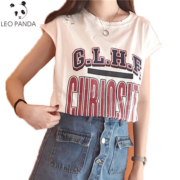 Summer New Fashion Female T Shirt Office Lady Style Short Sleeve Casual Ladies Tops O Neck Women Letter Pattern T shirt C 143