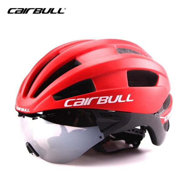 Cycling Helmet with Glasses Mtb Mountain Road Bike Bicycle Helmet 3 Lens Visor Cascos Mtb Bicicleta Ciclismo Bike