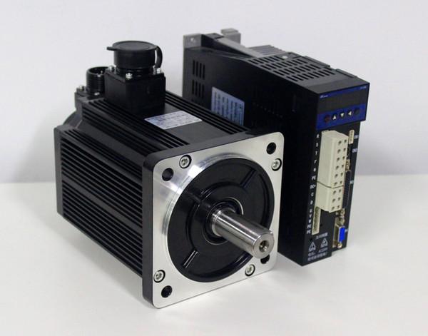 Lichuan 2600w small vibration servo motor with brake 220V ac servo driver kit 10Nm 2500rpm 130ST-M10025 quick response speed