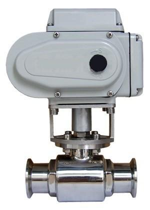 top popular 1.5 inch Stainless Steel Electric Fast Ball Valve 2021