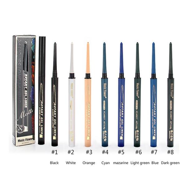 Black Smooth Eyeliner Pen Long Lasting Quick Dry Waterproof Beauty Makeup Cosmetic Tool Sweat-proof Eye Line Pen 2018 SELLING