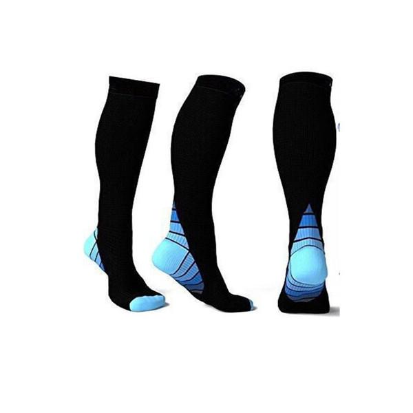 30pairs NEW Men and women Compression Socks gradient Pressure Circulation Anti-Fatigu Knee High Orthopedic Support Stocking AP194z