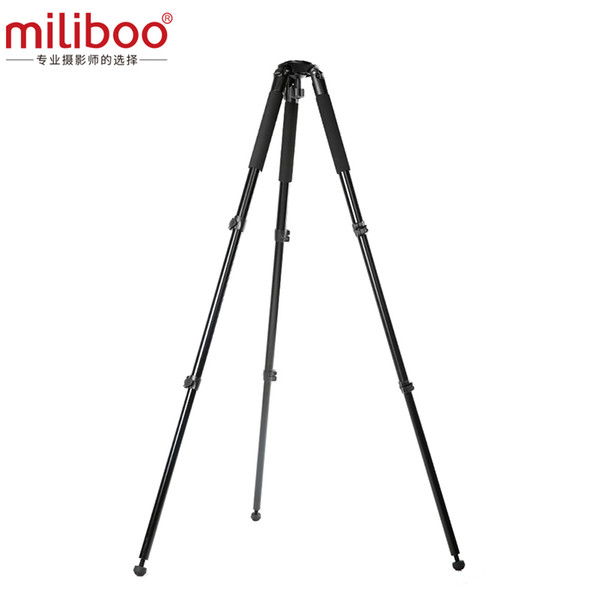 Miliboo MTT701A ohne kopf Stativ für Professionelle DSLR Kamera / Digital Camcorder Last 25 kg Max Höhe 160 cm / 63