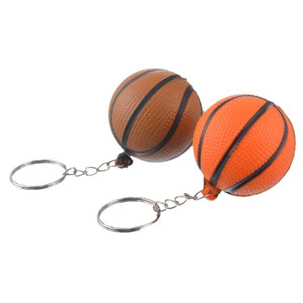 MJARTORIA 4PCs Fixed Mixed Fashion PU Basketball Key Chain For Boy Man Key Holder For Car Key Ring Charm Pendant Jewelry Gift