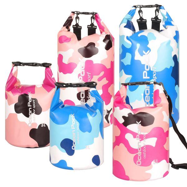 2L 3L 5L 10L 15L 20L 30L Waterproof Water Resistant Dry Bag Sack Storage Pack Pouch Swimming Kayaking Canoeing River Trekking