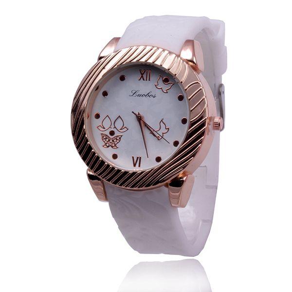 Силикагель ремешок женские часы модные часы мода часы Наручные часы