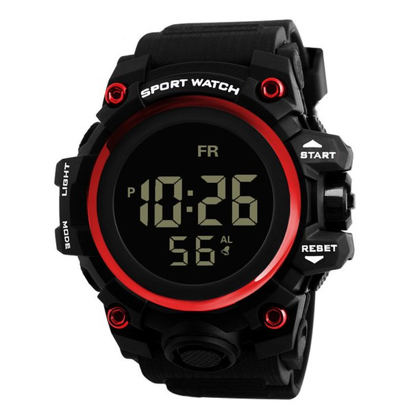 Sport watches Luxury Men for male man watch Analog Digital style Army Sport LED Waterproof Wrist Watches top selling