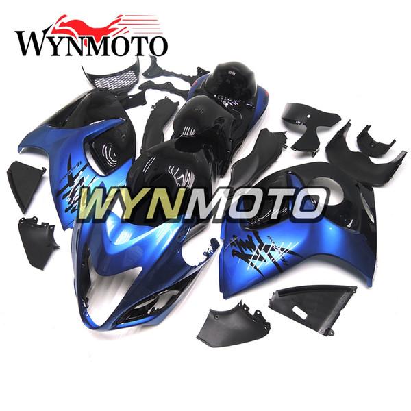 Carenados completos para Suzuki GSXR1300 Hayabusa 2008 - 2016 09 10 11 12 13 14 15 16 Inyección Carrocerías Carenado de motocicleta Cubierta Pearl Blue