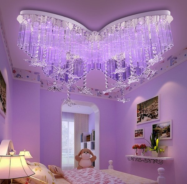 2019 Children\'S Lamp Butterfly LED Crystal Ceiling Lamps Bedroom Lamp Girl  Ceiling Lamp Color Ceiling Lights LLFA From Volvo Dh2010, $369.85 | ...