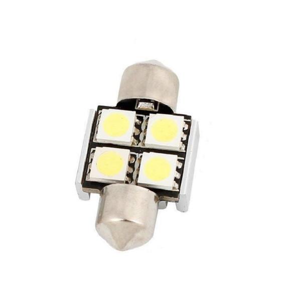 Canbus Car Led Source 31mm 36mm 39mm C5W Led Festoon 5050 SMD Ampoule Plaque D'immatriculation Lumière Extérieure Lumières