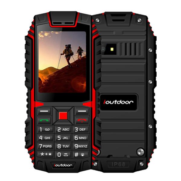 Ioutdoor T1 2G Waterproof Mobilephone IP68 Shockproof 128M+32M GSM 2MP Back Camera FM 2100mAh Rugged Telefon Celular 2100mAh Mobile Phone