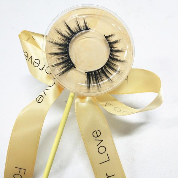 3D silk eyelashes Thick Natural Fake Eye Lashes Professional Makeup Bigeye Eye Lashes Handmade yellow box