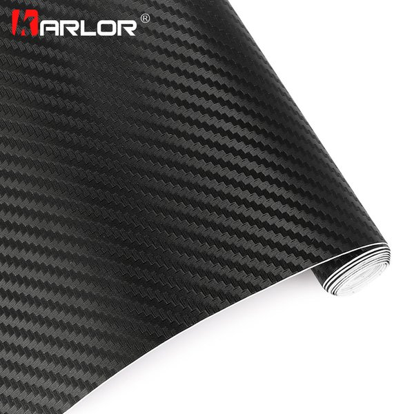 35x200cm 3D Carbon Fiber Vinyl Film Sheet Hydrograph Film Vinyl Motorcycle Car Stickers Water Proof Motocross Accessories