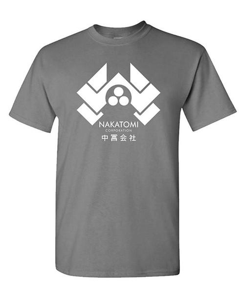 The Goozler Nakatomi Corporation - Film des années 80 - T-shirt en coton pour homme