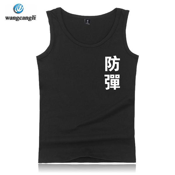 BTS bodybuilding tank top Summer Sleeveless Popular bangtan Boys tank tops Womens Fashion Casual korean Fans XXS-4XL Vest