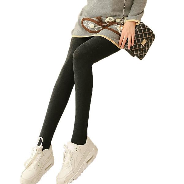 Değerli hamile kadınlar ayaklar yedi renkli pamuk dikişsiz entegre karın destekleyen tayt artış külotlu tayt