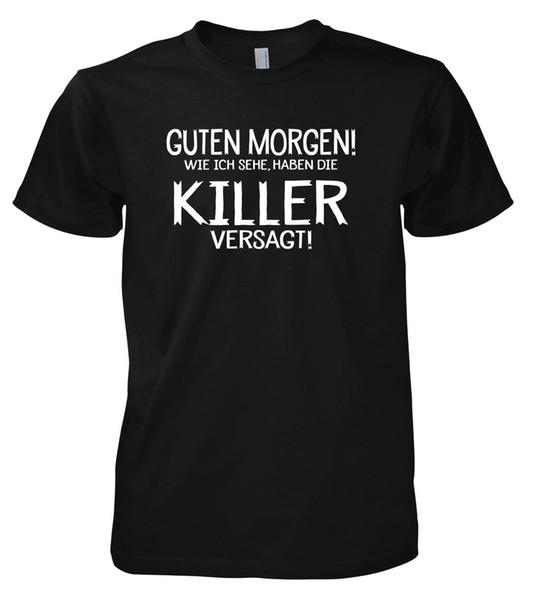 Divertente Guten Morgen T Shirt T Shirt Logos Trendy T Shirts From Beidhgate01 127 Dhgatecom