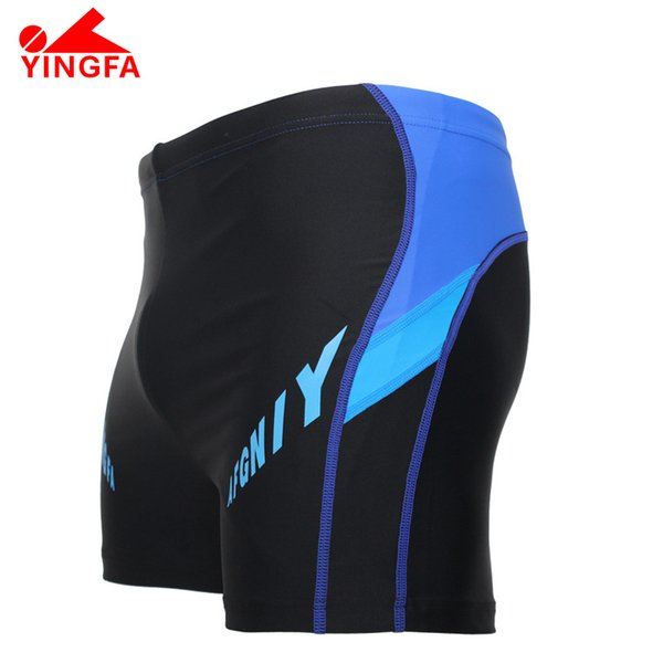YINGFA FINA Mens Professional swimming trunks approved Racing Competition Sexy Swimsuit boy's sharkskin Train swimsuit