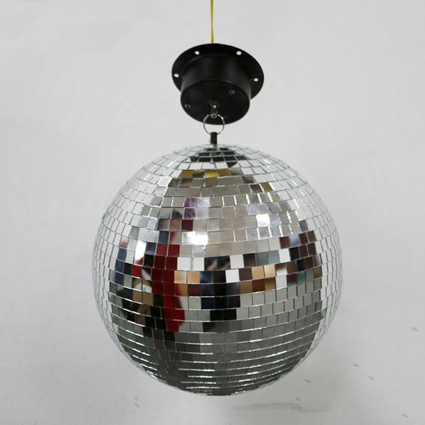 110 V 220 V 25 CM Glas Ball Stage Light Lampe für Bar Hochzeit Hotel Kristalllinse Ball mit Motor