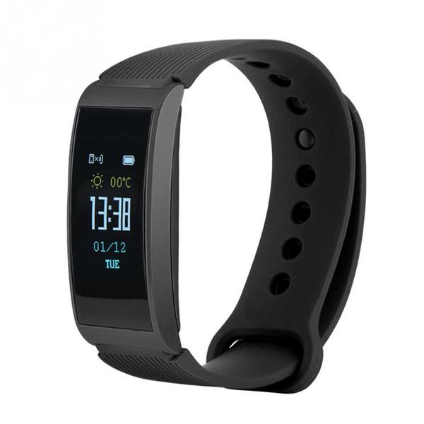 IP68 Waterproof Sport Pedometers Smart Fitness Running Wristband Touch Watch Intelligent Sleep Monitor Heart Rate Pressure