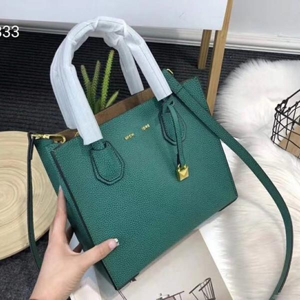 Borse a tracolla quadrate in vera pelle di marca litchi MICH, borse in Europa, borse di lusso per le signore, borse di moda all'aperto, borsa HFLSBB111