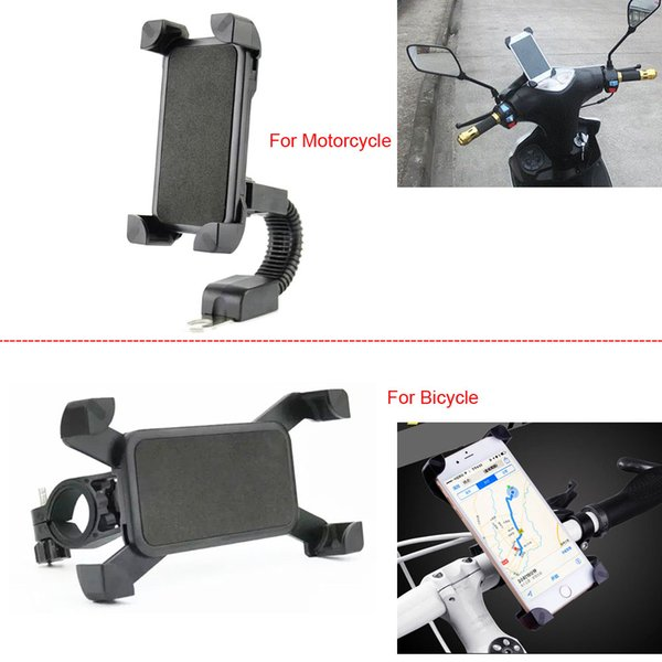 Motorcycle Adjustable Mobile PHONE HOLDERs Bike Bicycle Handlebar Mount For iPhone XR/XS Max,For BlackBerry KEY2,For Lenovo Z5