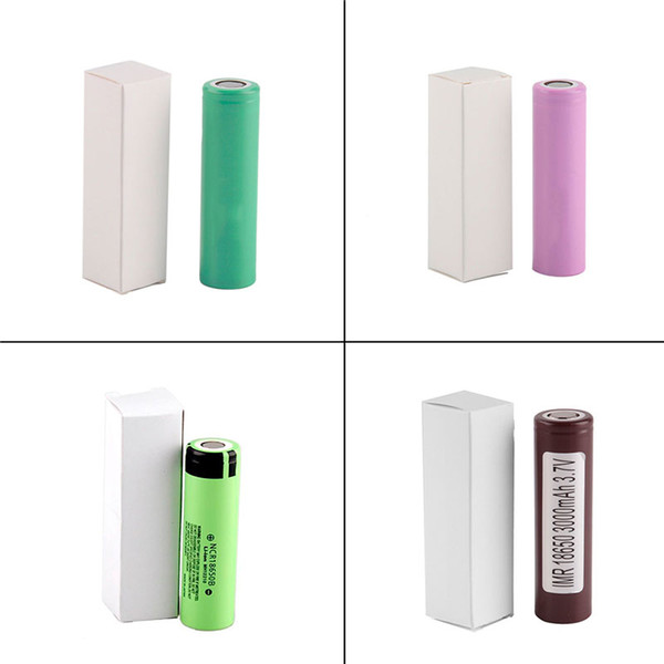 Vendas quentes HG2 25R 30q 18650 bateria INR Bateria 3.7 V 20A Recarregável De Lítio Para E Cig Caixa Mod com 3000 mah 3400 mah 2500 mah