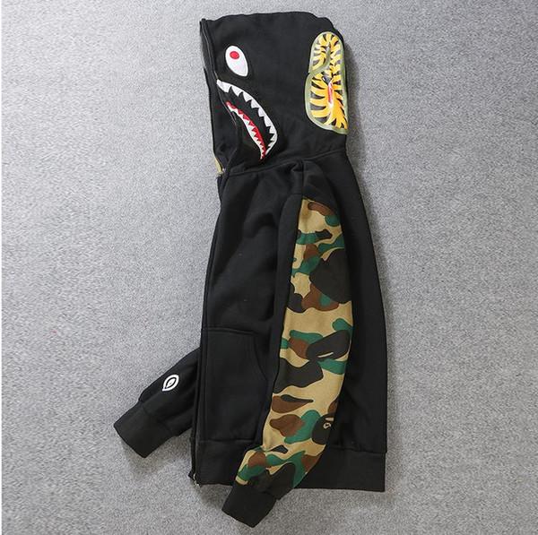 Tasarımcı Hoodie Mens Streewear Hoodie Ceket Jogger Sportwear Kazak Polar Kazak Siyah Hip Hop Hoodie Erkekler Giyim Ücretsiz Shiping