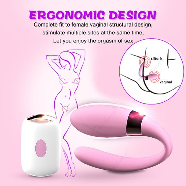 Vagina G Spot Vibrator Clit Pussy Pocket Vibrador Erotic Toy Clitoris Massage Sex Machine Womanizer Adult Sex Toys For Women Y18102605