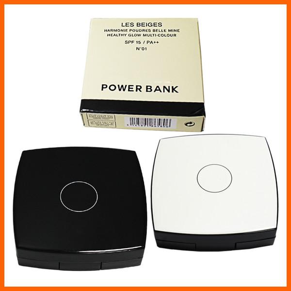 Spiegel 3000mAh Energienbank für tragbare mobile Energie kleine tragbare Für Samsung S8 huawei Ladegeräte Geschenk mit C Logo Powerbank