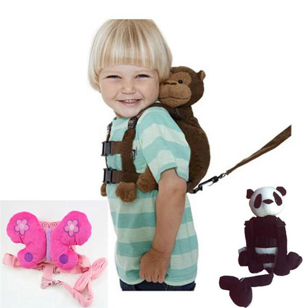 Maymun 2-in-1 Bebek Çocuk Kaleci Asistanı Toddler Yürüyüş Emniyet Kemeri Sırt Çantaları Askı Kayışı Tasmalar Kaybetmek