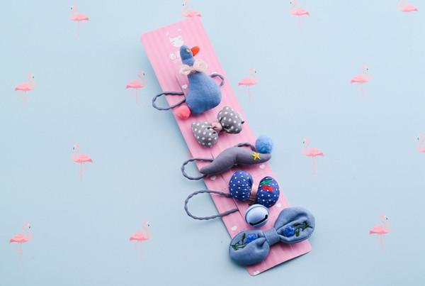 Preciosa bola elástica bandas para el cabello juguetes para niñas diadema de arco hecha a mano accesorios para el cabello para niños LP-012