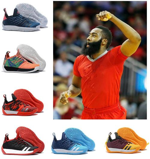 James Harden Vol.2 Basketball Shoes off Mens MVP luxury Training White black Silver red Sneakers Sports running shoes designer shoes EU40-46