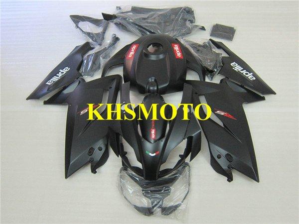 Estojo de injecção para Aprilia RS125 06 07 08 09 10 11 RS 125 2006 2011 Fosco preto Carenagem set AA05