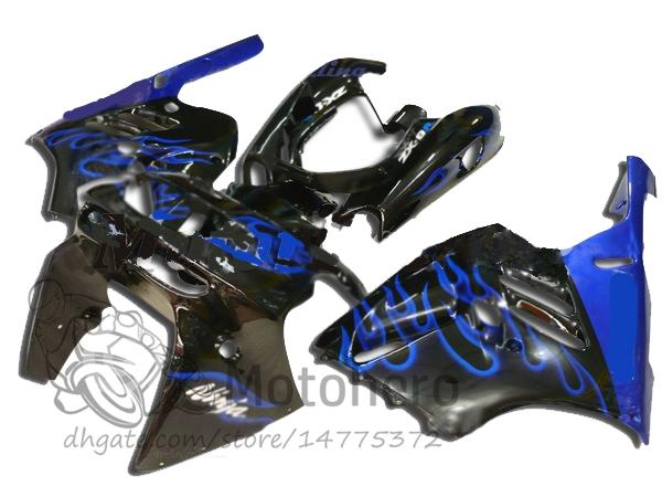 3gifts Fairings For KAWASAKI NINJA ZX9R 1994 1995 1996 1997 ZX 9R 94 95 96 97 ZX-9R 94-97 Fairing kits blue black bodywork