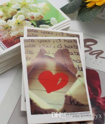 free retro Lyric for flowers card watercolor blessing can be customized general valentine's day card teachers' day